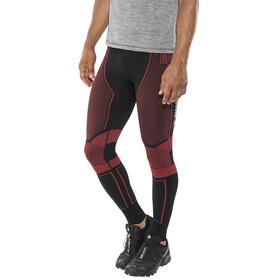 X-Bionic M's Effektor Power Running Pants Long Black/Red